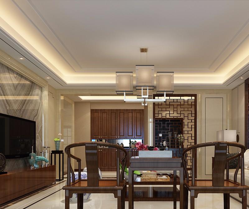 4室2卫2厅239平米中式风格