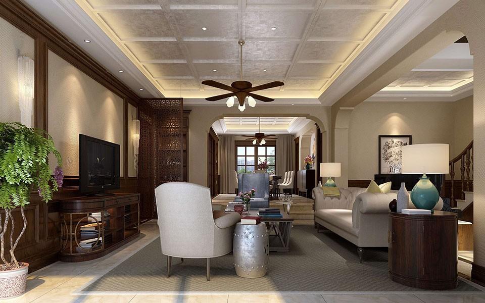 4室3卫2厅265平米中式风格