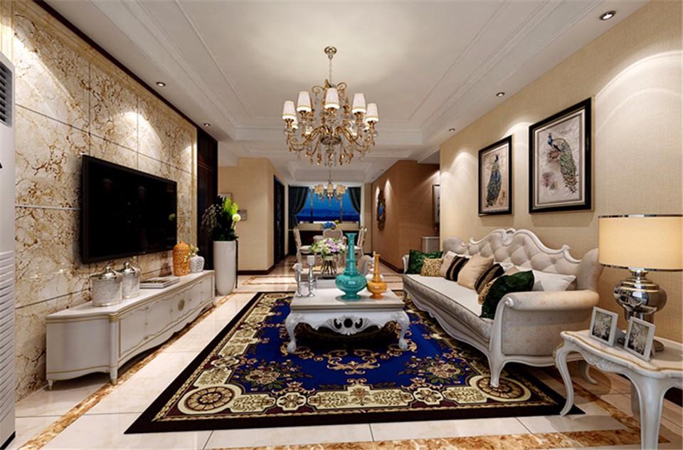 4室2卫2厅160平米欧式风格