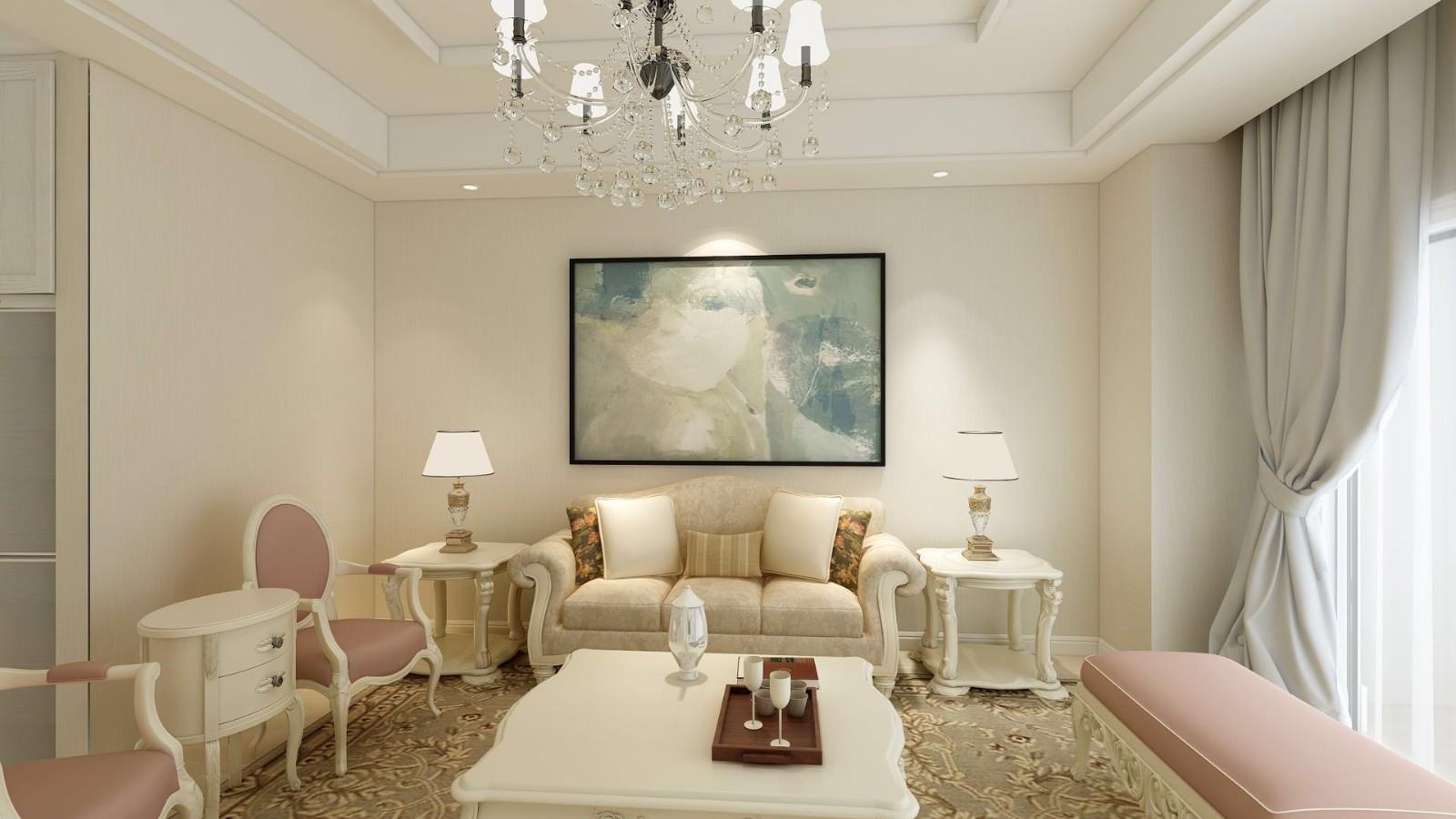 2室1卫1厅89平米简欧风格