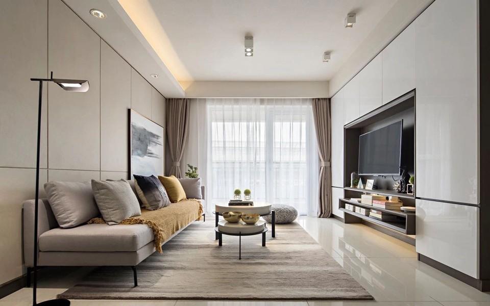3室1卫1厅89平米简约风格