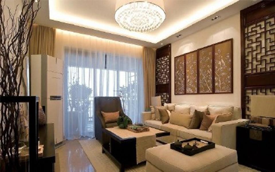 2室1卫1厅115平米新中式风格