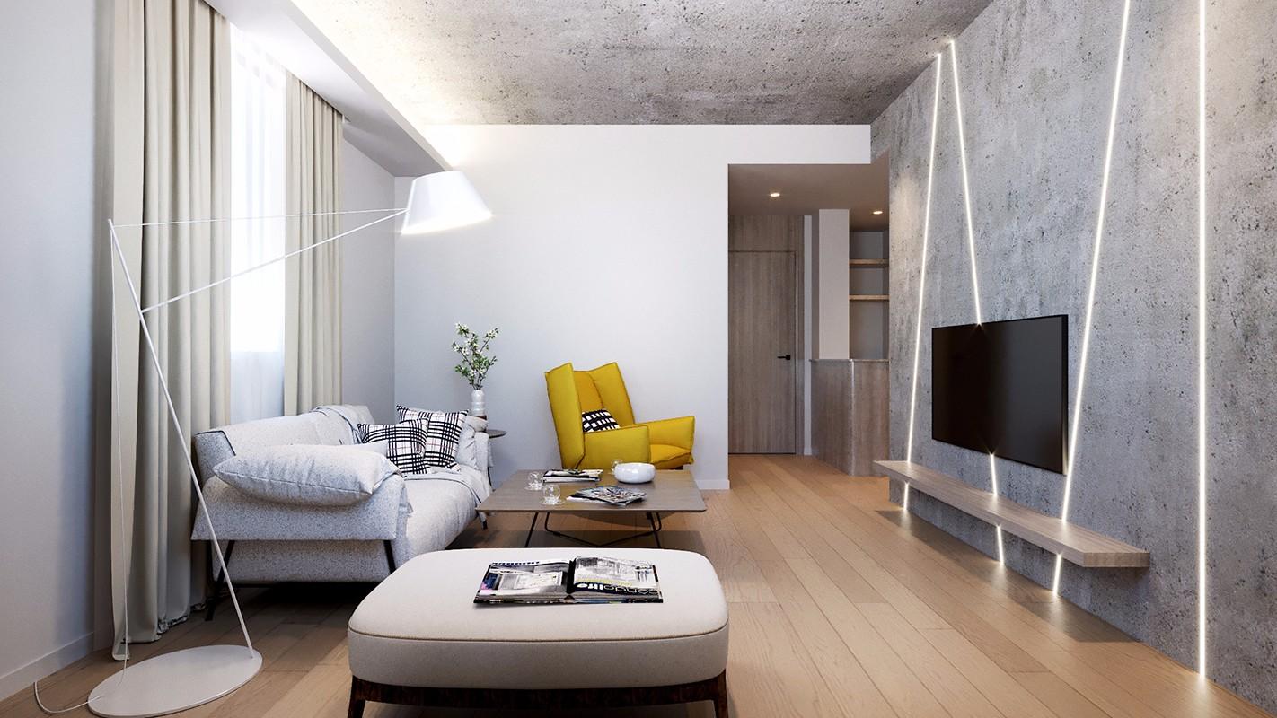 3室2卫2厅350平米后现代风格