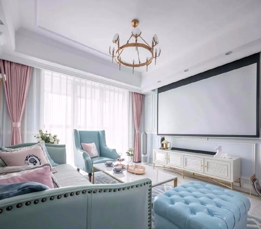 2020法式90平米装饰设计 2020法式一居室装饰设计