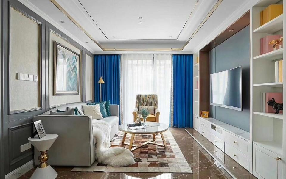 2019法式90平米装饰设计 2019法式二居室装修设计