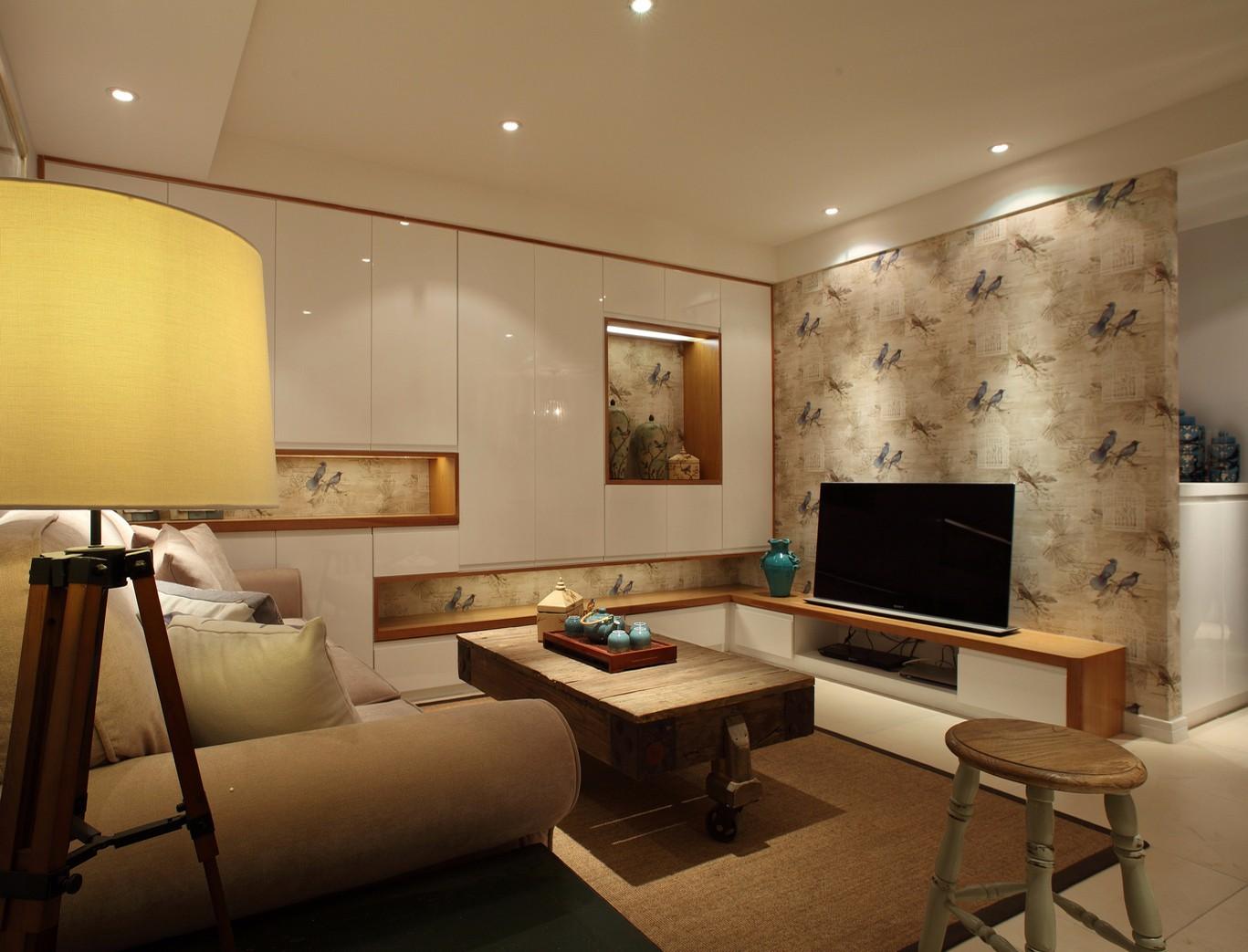 3室1卫2厅98平米乡村风格
