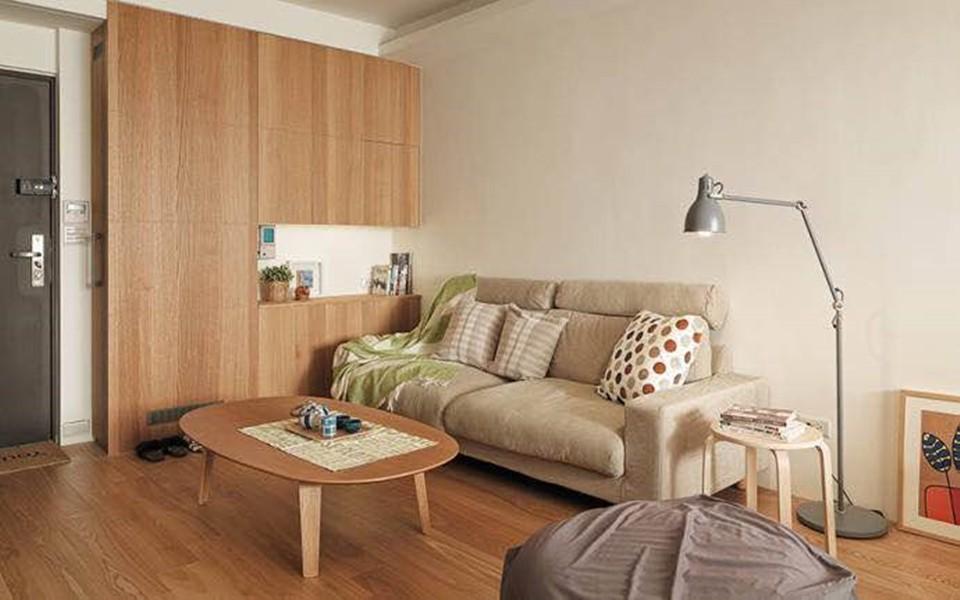 1室1卫1厅52平米日式风格