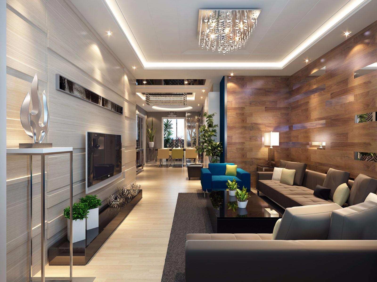 3室2卫2厅94平米现代风格