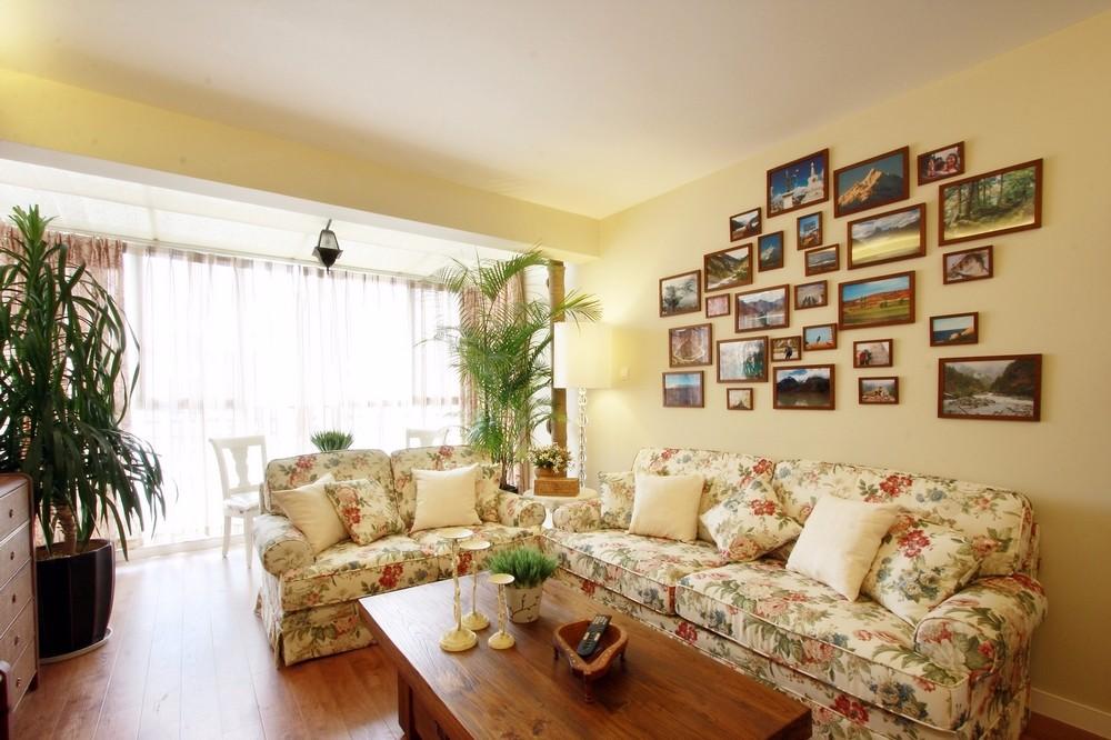 3室1卫1厅98平米田园风格