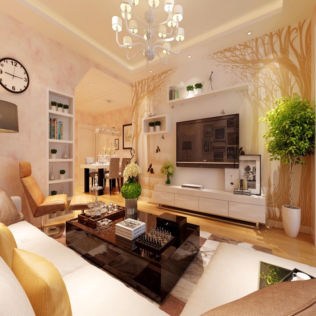 3室1卫2厅170平米简约风格