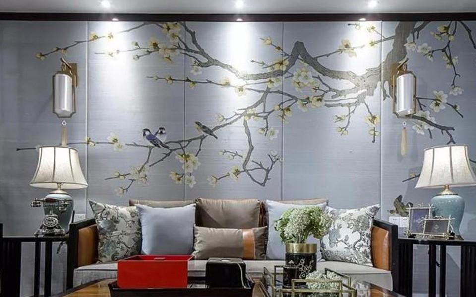 3室1卫1厅110平米新中式风格