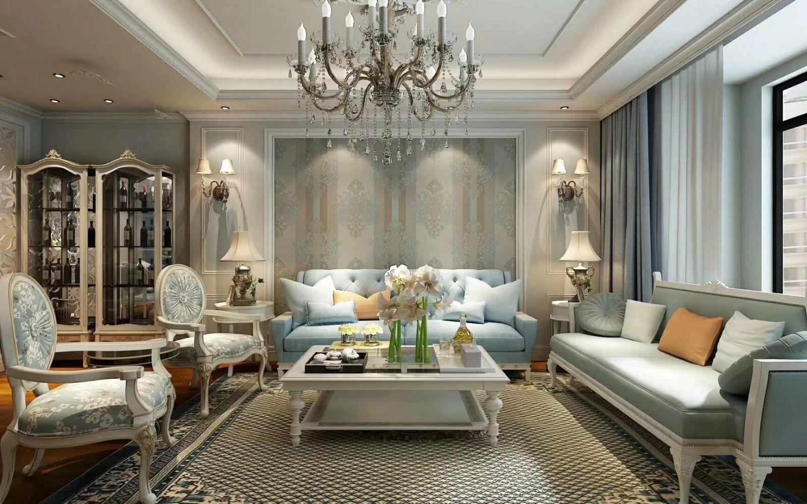 3室2卫2厅220平米法式风格