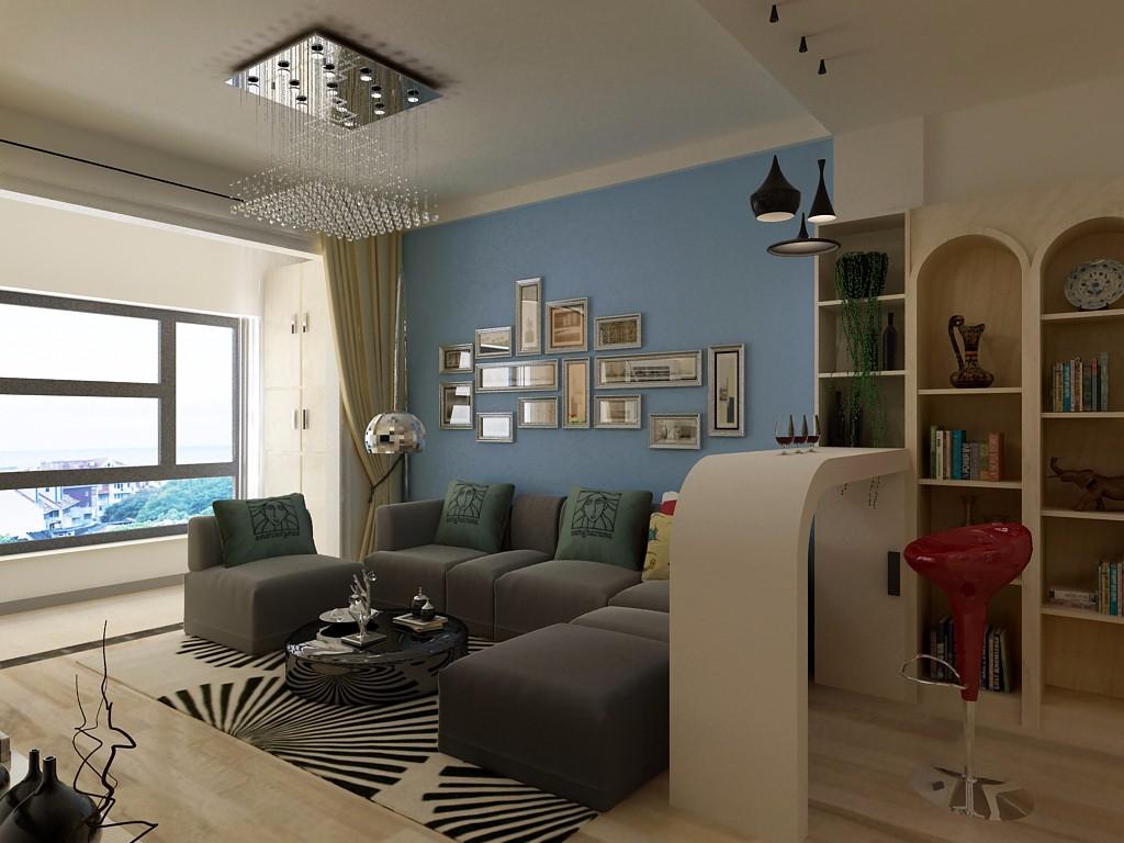 3室2卫2厅89平米现代简约风格