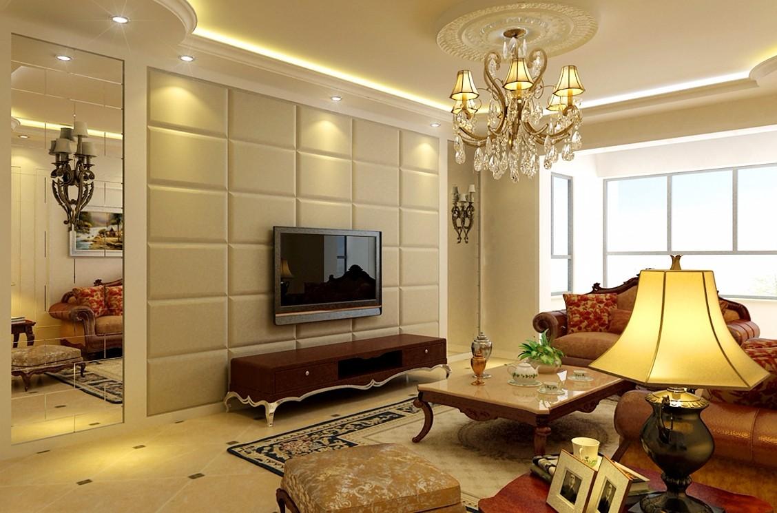 2室1卫2厅120平米简欧风格