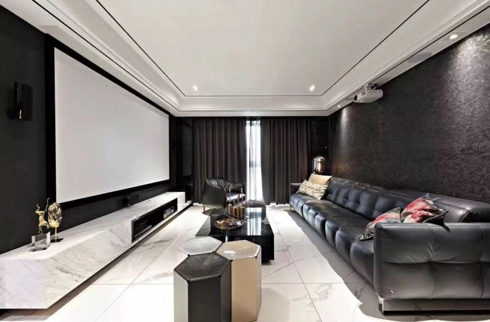 118平简约风格三居室装修效果图