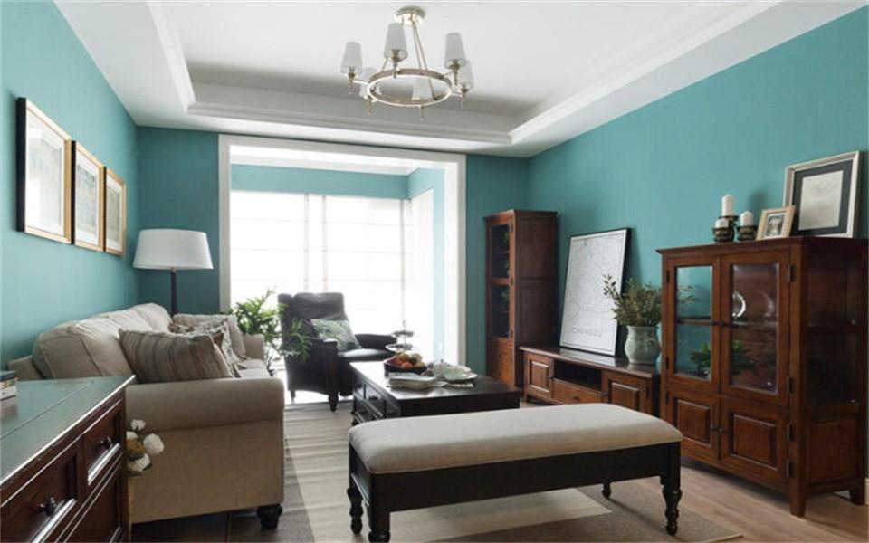 3室1卫2厅85平米美式风格