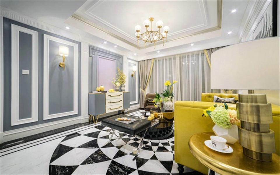 3室1卫2厅119平米混搭风格