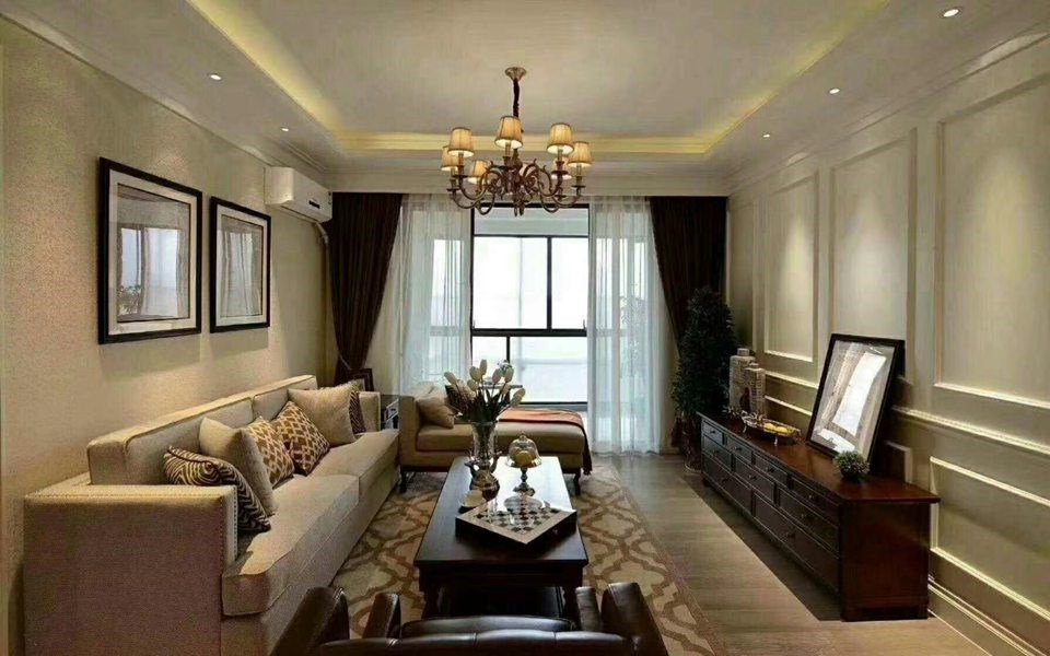 2021新中式70平米设计图片 2021新中式三居室装修设计图片