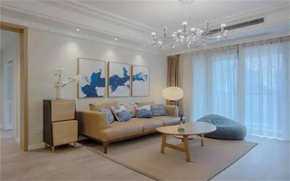 2室1卫2厅91平米北欧风格