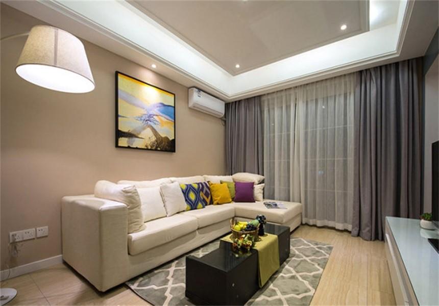 2室1卫1厅75平米现代简约风格