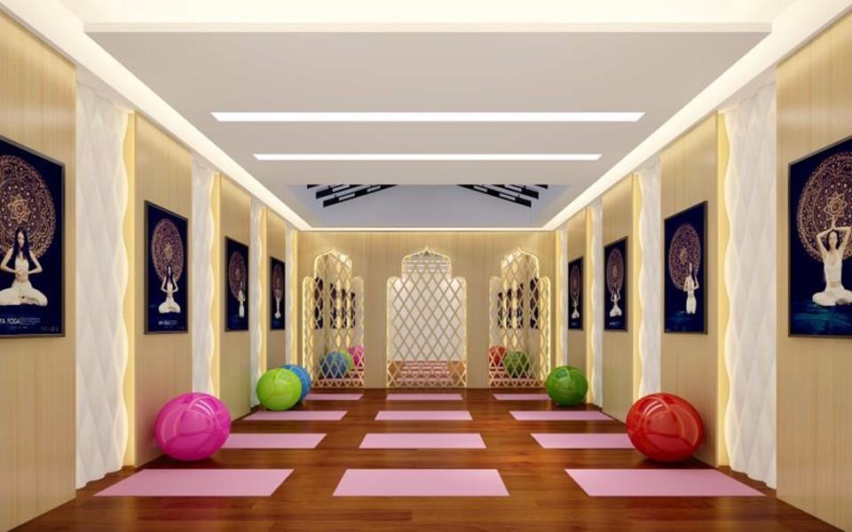 2021新中式健身房装修图 2021新中式背景墙装修设计