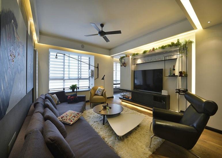3室2卫2厅180平米现代风格