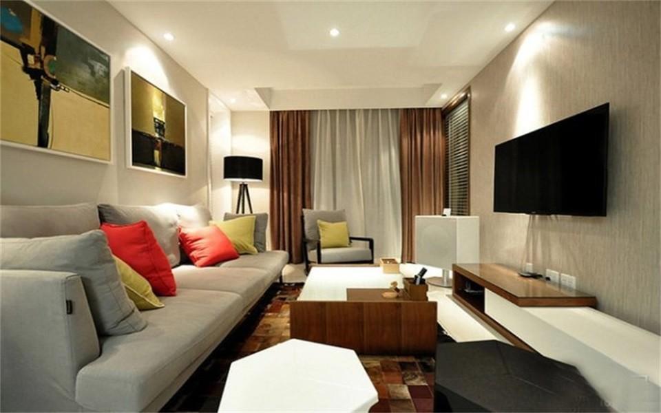 3室1卫1厅93平米现代简约风格