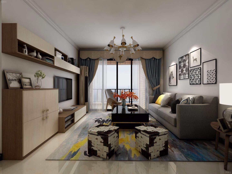 4室2卫2厅105平米北欧风格