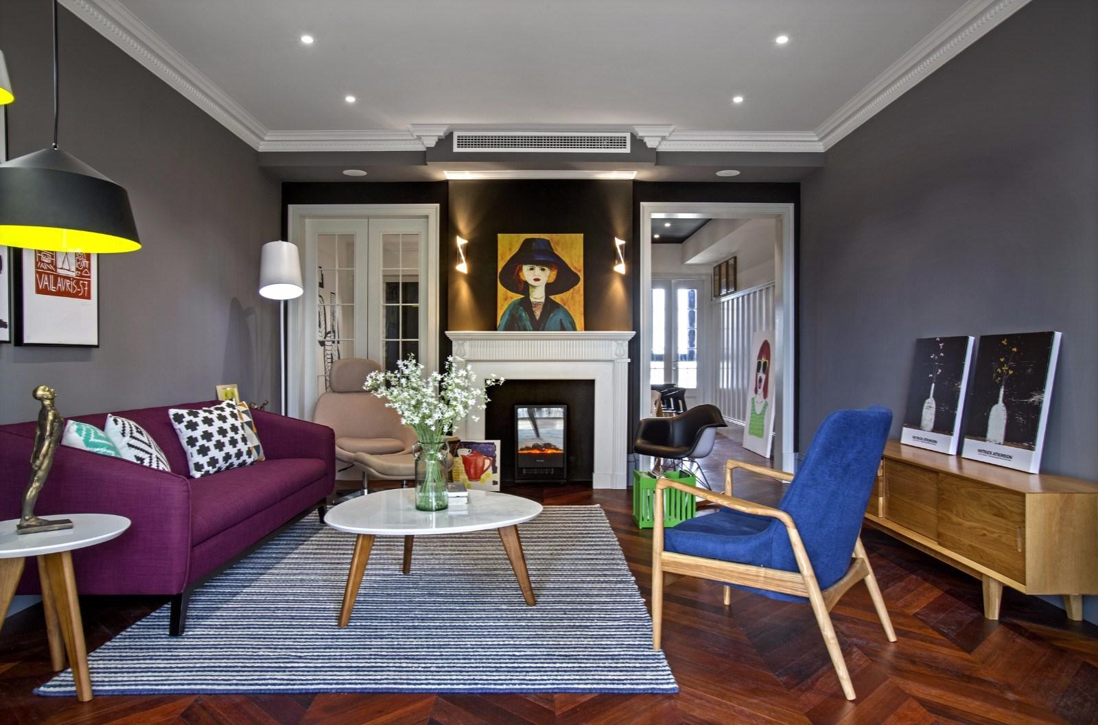3室2卫1厅125平米现代简约风格