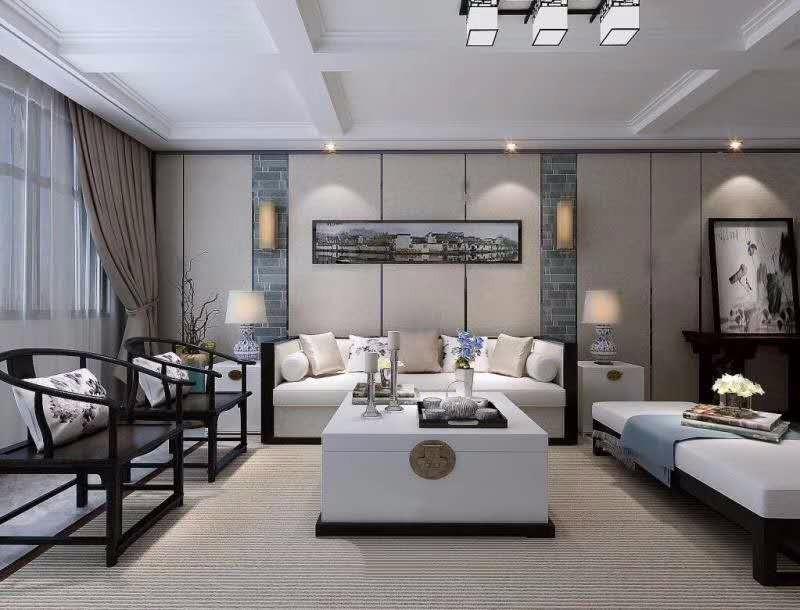 2室1卫2厅138平米新中式风格