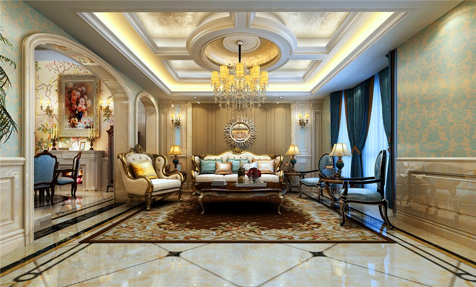 2020经典300平米以上装修效果图片 2020经典别墅装饰设计