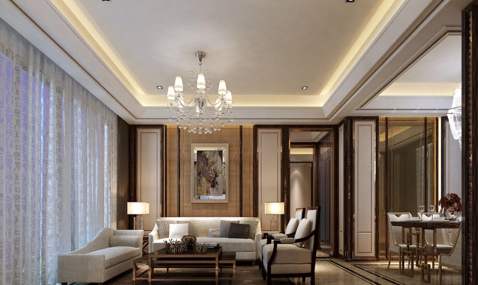 5室3卫2厅120平米现代风格