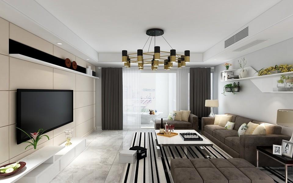 173平北欧风格四居室装修效果图