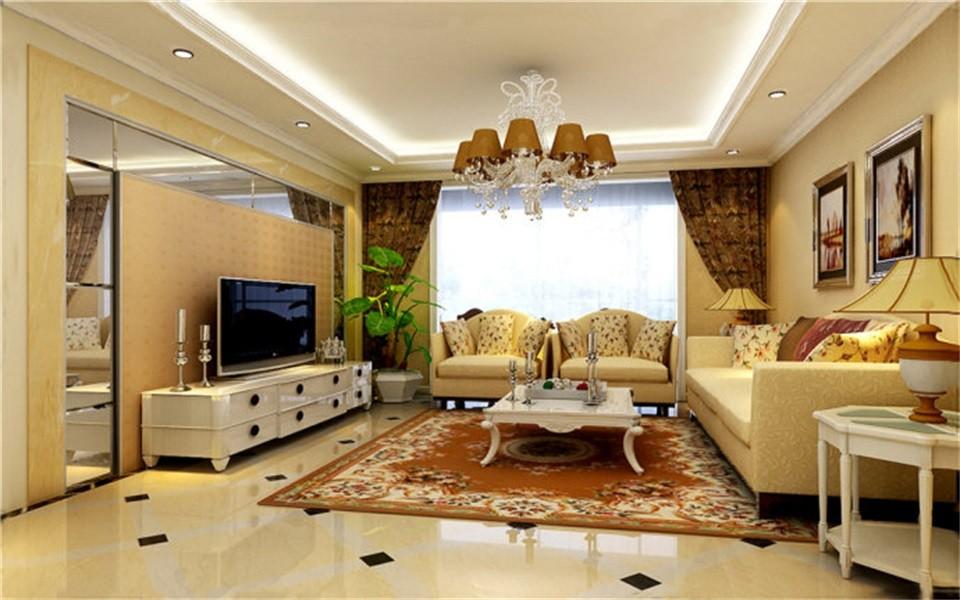 3室1卫2厅110平米田园风格
