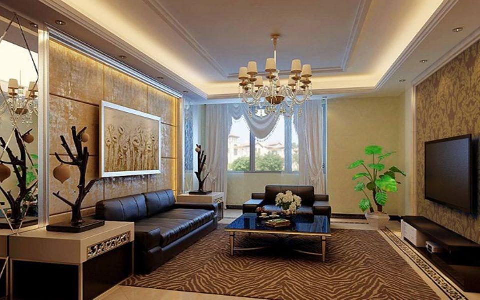 103平现代风格三居室装修效果图