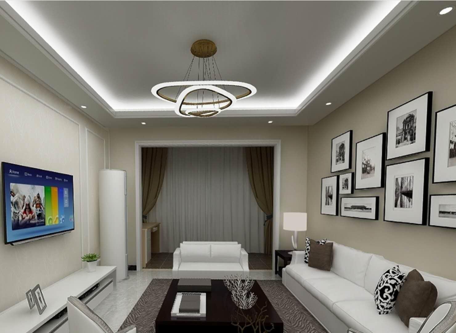 105平简约风格三居室装修效果图