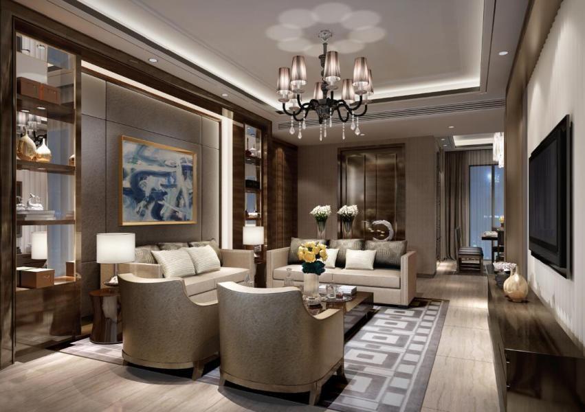 2019新古典150平米效果图 2019新古典二居室装修设计