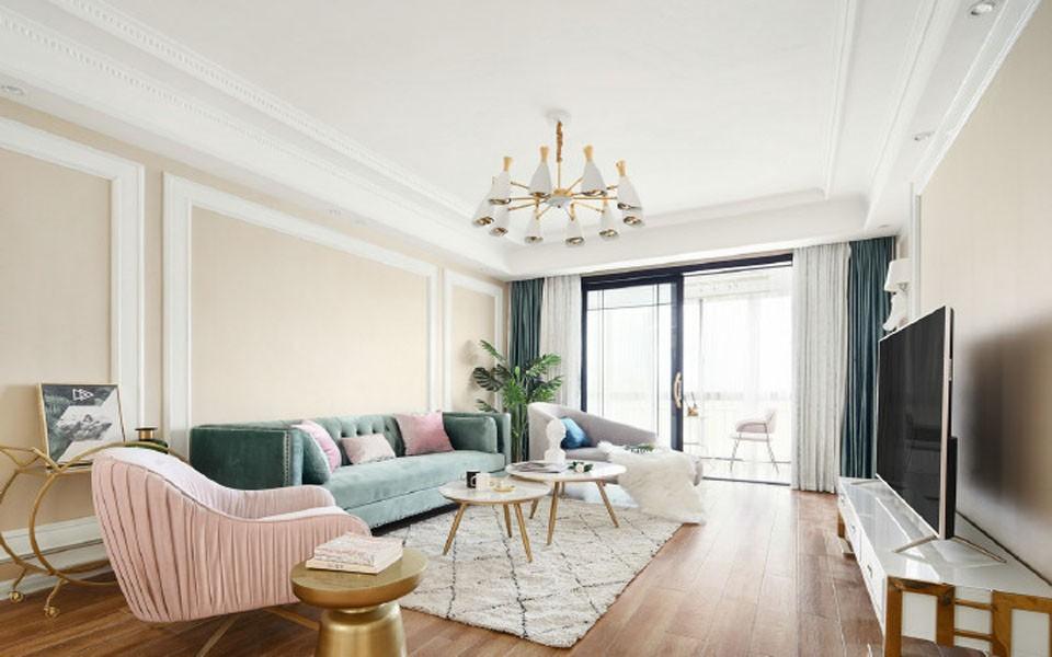 3室2卫1厅129平米美式风格
