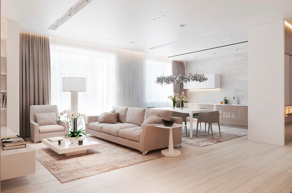 2室2卫2厅90平米现代简约风格