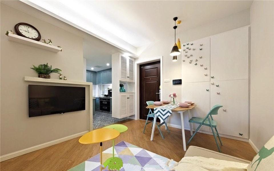 1室1卫1厅北欧风格