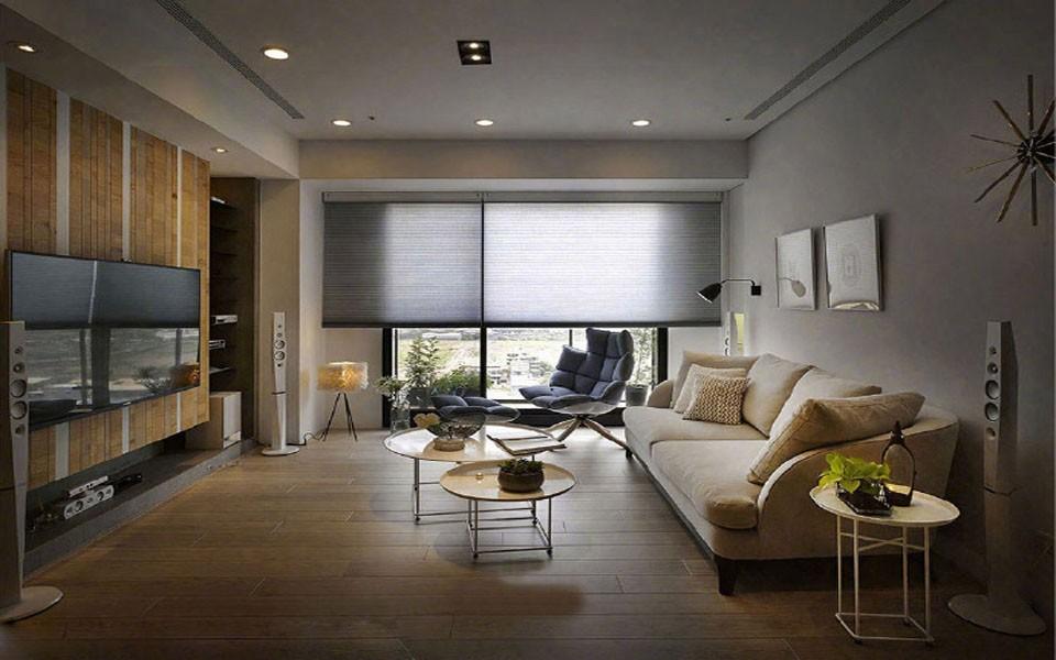 3室2卫1厅123平米现代简约风格