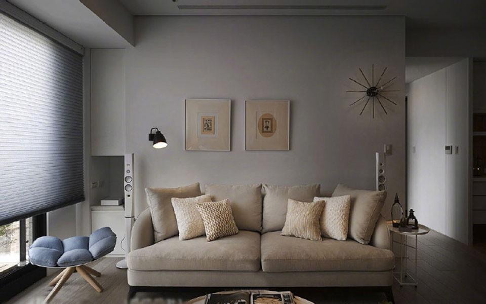 2室1卫1厅113平米现代风格