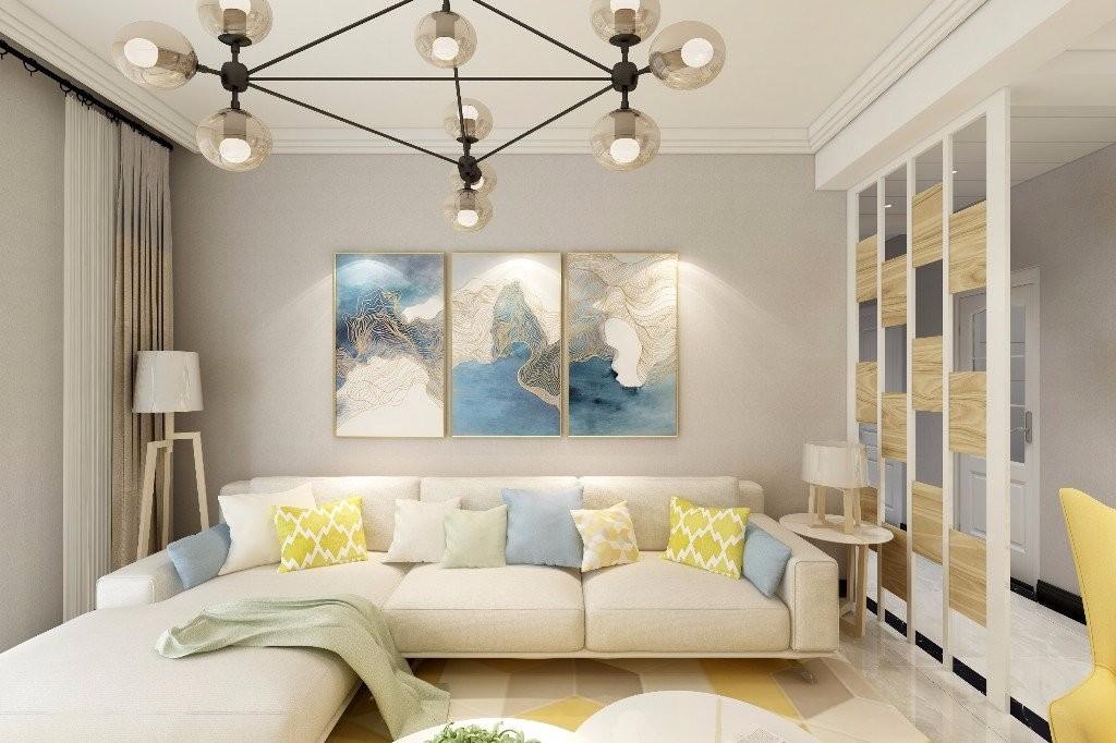 167平现代简约风格三居室装修效果图