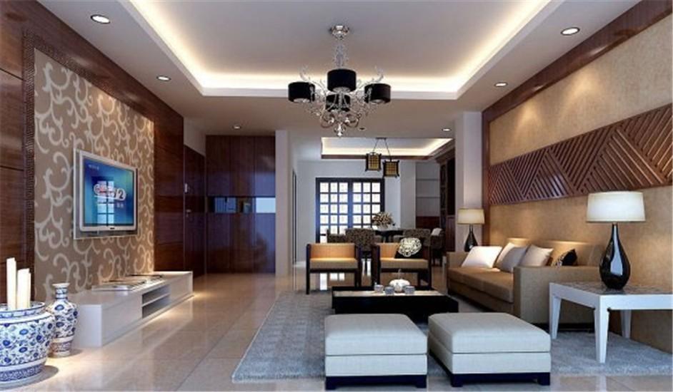 3室2卫1厅136平米简约风格