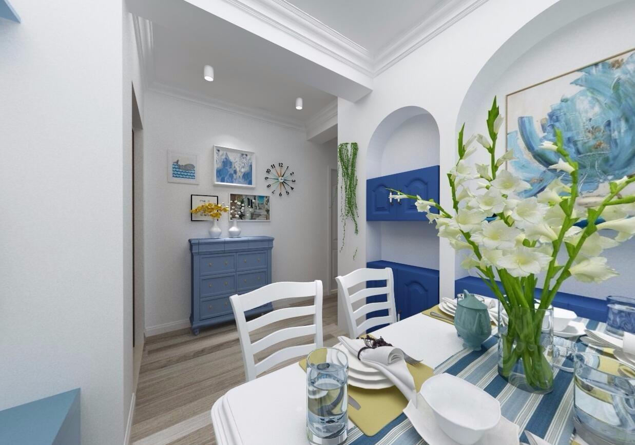 2020地中海60平米以下装修效果图大全 2020地中海一居室装饰设计
