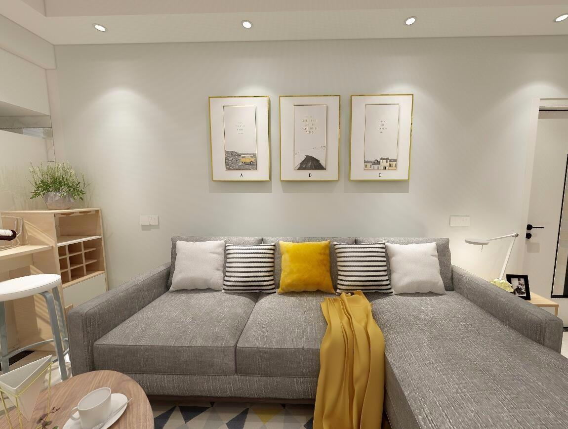 2021北欧60平米以下装修效果图大全 2021北欧二居室装修设计