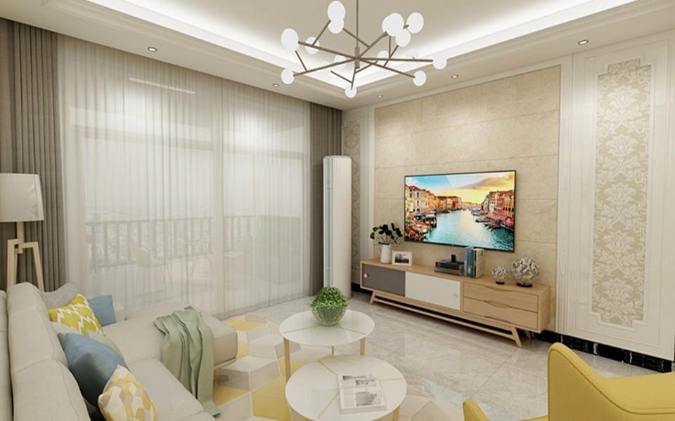 4室2卫2厅112平米现代简约风格