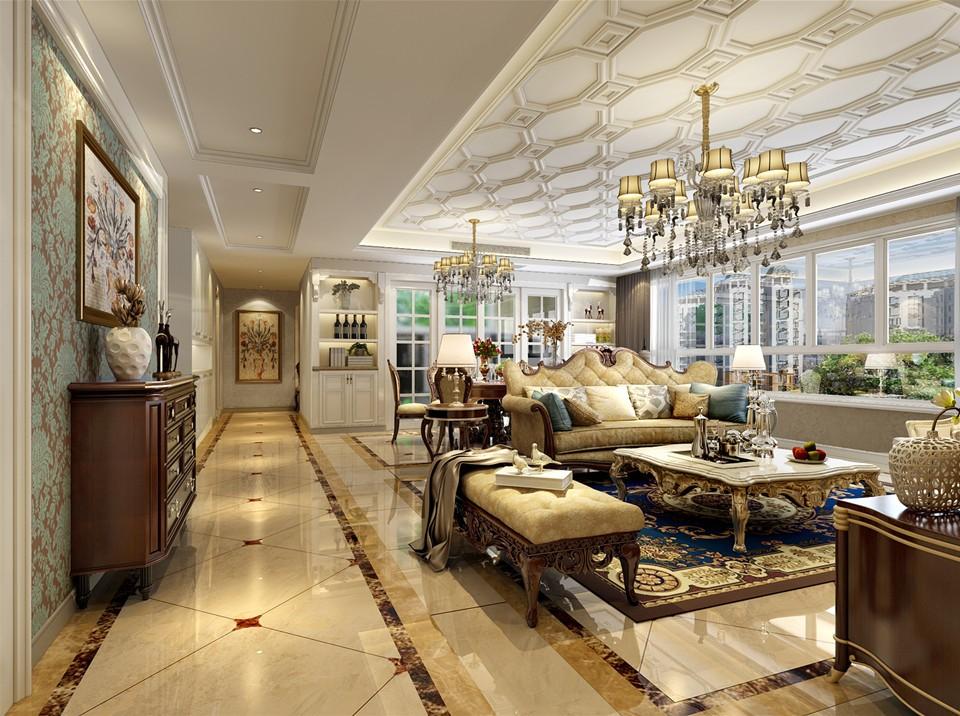 4室2卫2厅205平米欧式风格