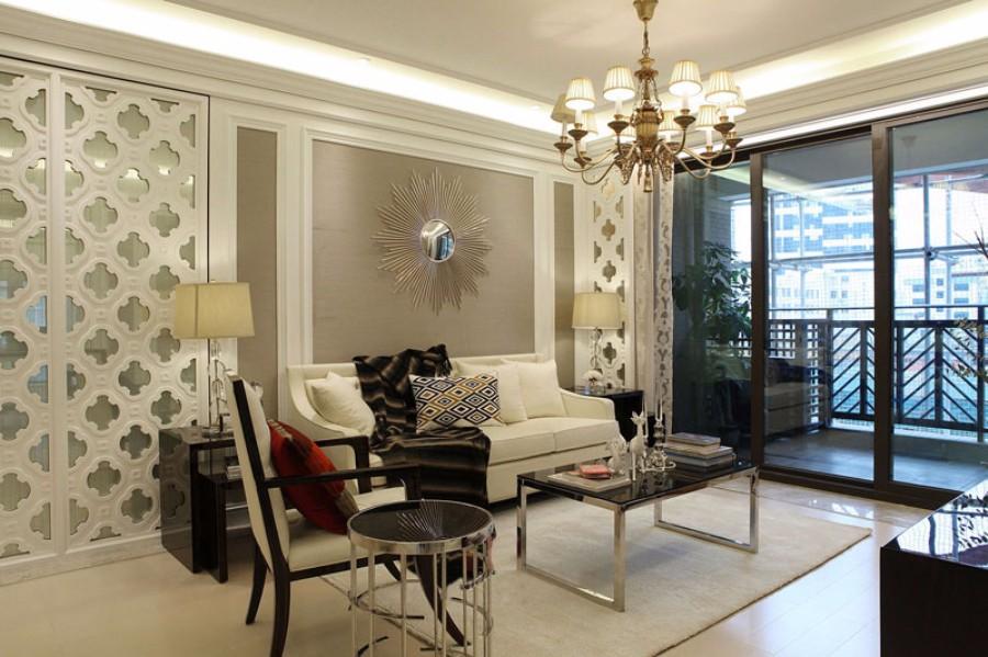 2020現代歐式90平米裝飾設計 2020現代歐式套房設計圖片