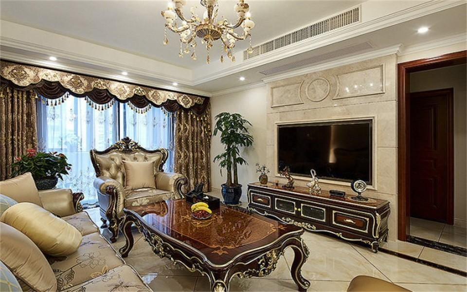 2020新古典70平米设计图片 2020新古典二居室装修设计